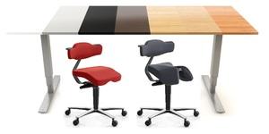 Arbetsplats paket för full ergonomisk arbetsplatsmiljö!