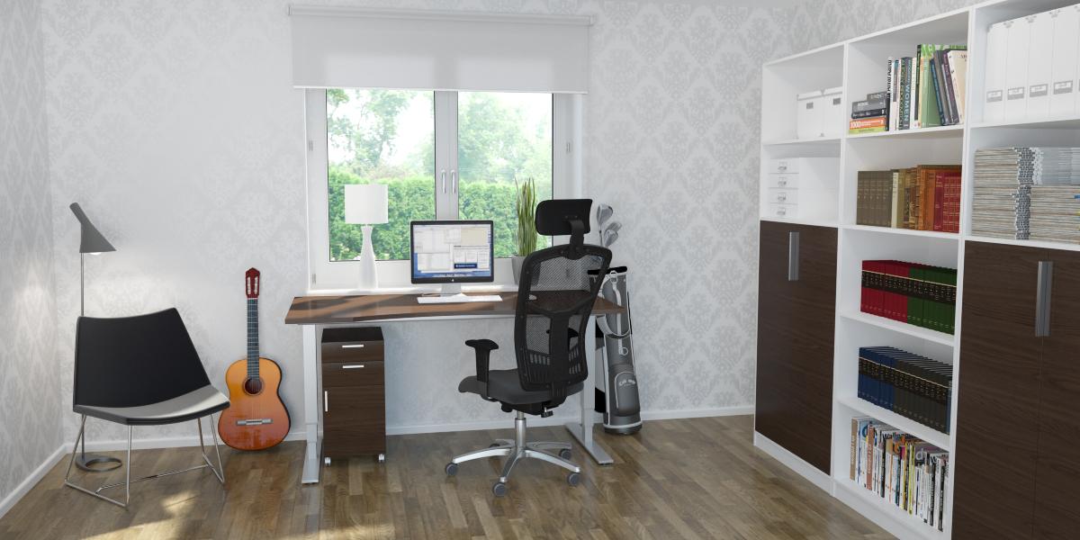 Offix möbler till hemmakontoret