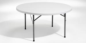 Fällbart bord, rund, Offix