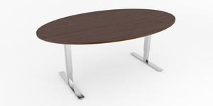 Konferensbord ovalformad 6 platser, Offix