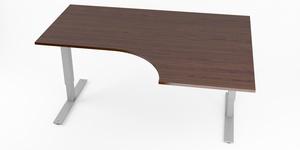 Hörnskrivbord, höj- och sänkbart, höger, Sitt&Stå, Offix