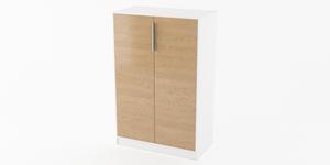 Kontorsskåp, skåpdörrar, F80-2D, Offix