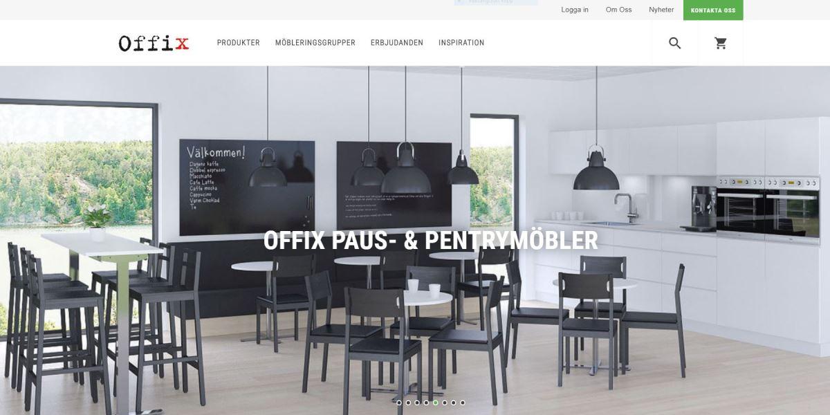 Offix Nya uppdaterade websida!